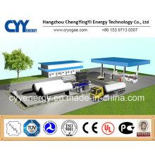 Alta calidad y bajo precio Cyylc74 L sistema de llenado de CNG