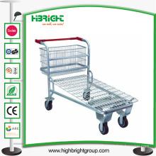 Heavy Duty Warehouse Steel Cargo Trolley