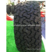 Durun brand mud tire LT31/10.5r15 made in china with tyre price