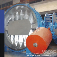 Wafer Ends Butterfly Valve with Counter Weight