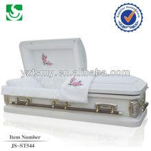 JS-ST544 Chinese cheap metal caskets