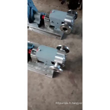 2018 vente chaude !!! haute qualité haute viscosité pompe rotor pompe sirop / pompe à miel