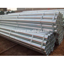 ASTM A53B Thin wall Seamless Hot Galvanized pipe