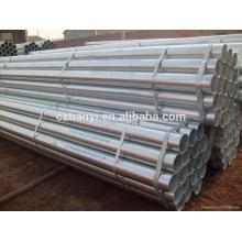 ASTM A252 tubo de aço galvanizado / tubo de gi