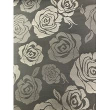 Gray Big Flower Jacquard Lining