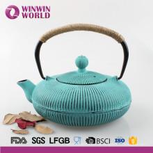 Heiße verkaufende emaillierte Teekanne mit Edelstahl-Infuser