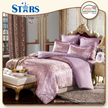 GS-JAC-01 luxury Jacquard indian style bedding sets for bedroom