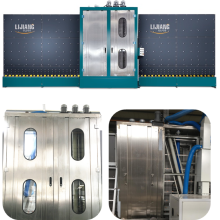 máquina de lavar vidros duplo com CE