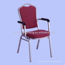 Стальной стул подлокотник (МК-ZG57)