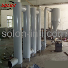 Sawdust pipe dryer/wood sawdust drying machine