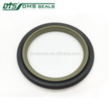 anillo de junta de la varilla del cilindro hidráulico PTFE + sello de la válvula de bronce