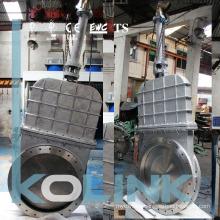 Bolted Bonnet Knife Gate Valve Cast Steel for Large Size