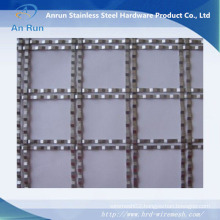 Decoration Elevator Cab Crimped Wire Mesh
