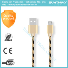Fast Charging Micro Mobile Phone USB Data Cable for Samsung Android Phone