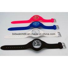 Reloj de silicona de promoción con precio barato