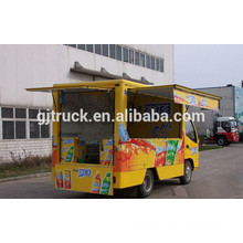 Dongfeng 4x2 Mobile Food Truck buffet coche snack comida camión