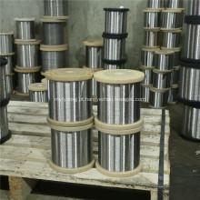 Fio de aço inoxidável de alta resistência do carretel 304 316