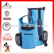 Deportes impermeable bolsa seca móvil y botella de agua de bolsillo ajustable correa para el hombro para aventuras, canotaje, camping, snowboardin