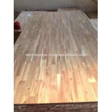 Tablero de madera común de los dedos de Vietnam hecho por Acacia de la buena calidad