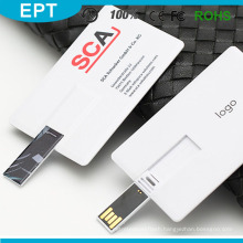 Best Selling Promotional Credit/Visa/Business Card Logo Printing USB Card Flash Drive