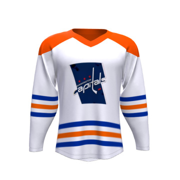 Custom Sublimation Ice Hockey Jersey Uniform Wear Skjortor Kläder Sportkläder