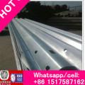 Hot DIP Galvanized Layer Coated W Waveform Metallic Guardrail