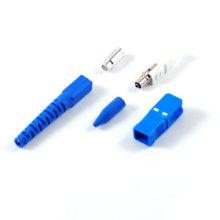 Kits de connecteurs de fibre optique SC / PC et Sc / APC