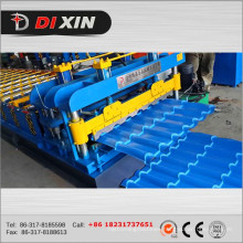 Roof Use Glazed Tile Cold Roll Forming Machine