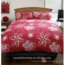 Замечательные печатные водонепроницаемые ткань для постельные принадлежности лист