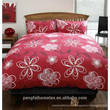 Maravilloso tejido impermeable impreso para ropa de cama