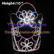 12inch Butterfly Crystal Pageant Crowns