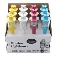 Bougeoir de jardin Décoration de lanterne en métal