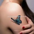 Impressão de transferência de água 3d realista Etiqueta do tatuagem temporária (design personalizado)