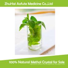 100% cristal natural de Methol para la venta
