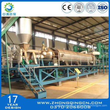 Fully Continuous Tire Recycling Machine