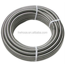 304 Stainless Steel Flexible Pipe High Pressure Corrugated Metal Hose