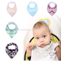 anti-Bacterial cotton baby bib for baby girls easy washable Promotional bib baby bandana drool bibs