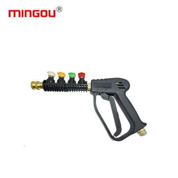 Sandblaster nozzle gun