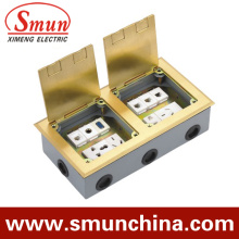 Double Box Floor Socket DC-5t/4 Open Type Ground Socket