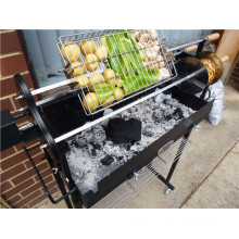 Barbecue au charbon de bois extérieur