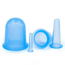 Tazas de terapia de ventosas faciales de silicona