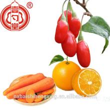 Fruta roja de Goji Berry secada Superfood