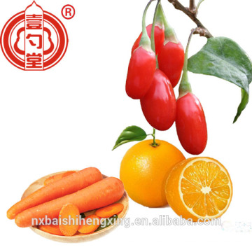 Hot Sale Ningxia Organic Dried Goji Berries , Fresh Chinese wolfberry Ningxia Goji berries Organic 280 Grains/50g