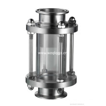 Vidro sanitário de aço inoxidável para o tanque