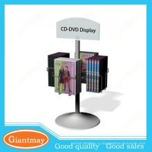 продвижение висит DVD-дисков вращающийся дисплей tabletop