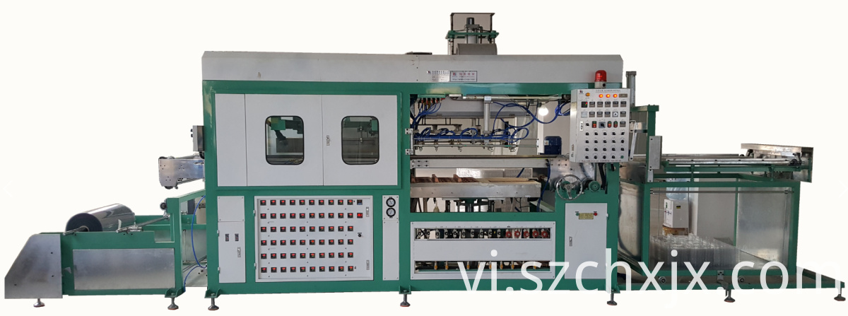 Custom made automatic blister vacuum thermoforming machine