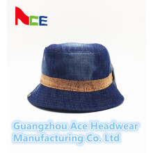 2016 Nouveau chapeau de chapeau de Blue Jean plaine pour la vente en gros (ACEK0015)