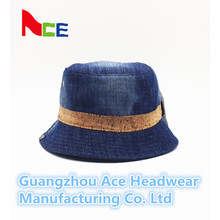 2016 New Fashion Blue Jean Plain Bucket Hat para atacado (ACEK0015)