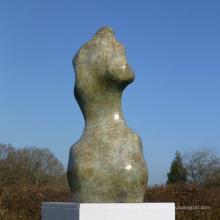 sculpture de coquille de bronze abstraite de haute qualité