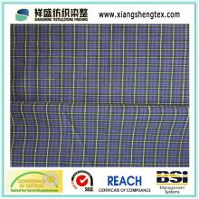 Mélange de tissu de coton teint en fil avec plaid